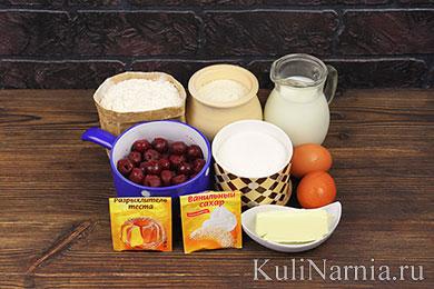 Вкусный рецепт манника на кефире с фото