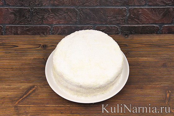 Пина колада торт
