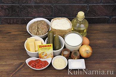Пирог Чизбургер рецепт