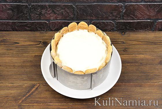 Рецепт малинового торта с фото