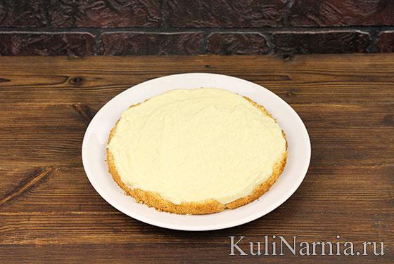 Торт Пина колада пошагово