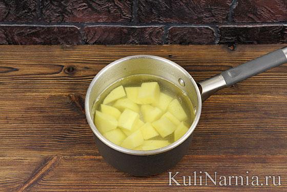 Грибной суп-пюре рецепт с фото