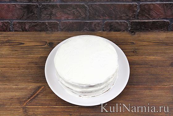 Как готовить торт Черный принц