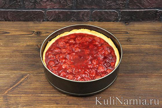 Как готовить вишневый пирог