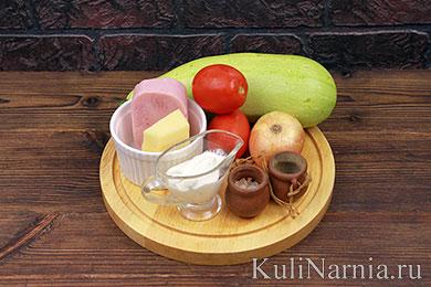 Лодочки из кабачков рецепт