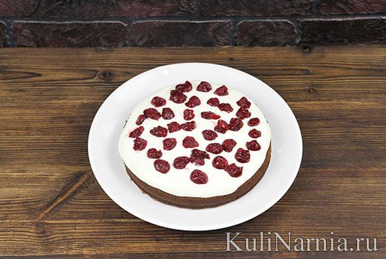 Рецепт торта Черный принц с фото