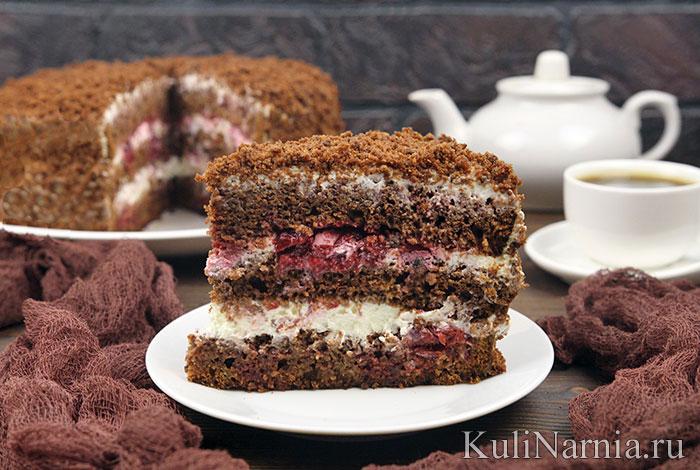 Торт Черный принц на кефире ( в мультиварке и духовке) рекомендации