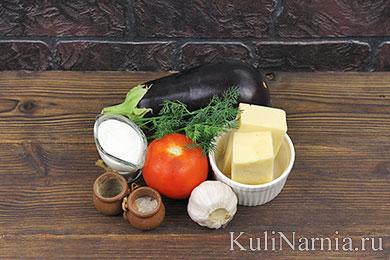 Веер из баклажанов в духовке рецепт