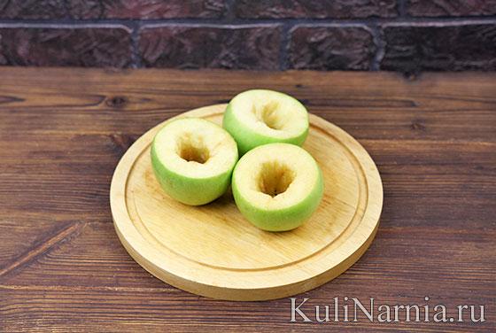 Запеченные яблоки пошагово