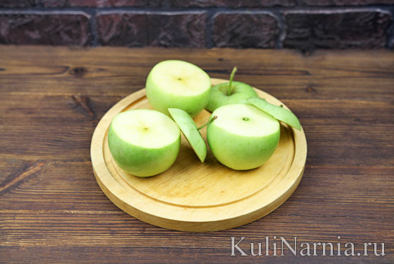 Запеченные яблоки рецепт с фото