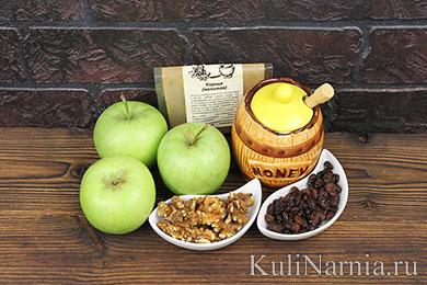 Запеченные яблоки рецепт