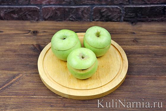 Запеченные яблоки с фото