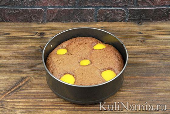 Как готовить пирог с персиками