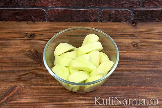 Как готовить пирог с яблоками на сметане