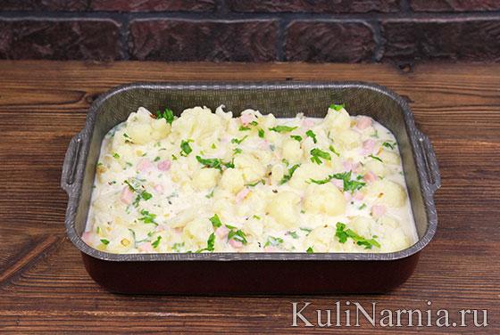 Как готовить запеканку из цветной капусты