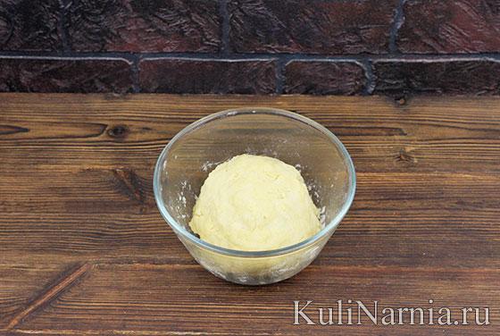Песочный яблочный пирог с фото