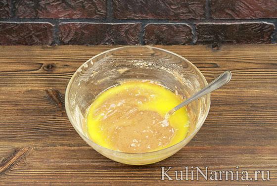 Рецепт пирога с персиками с фото