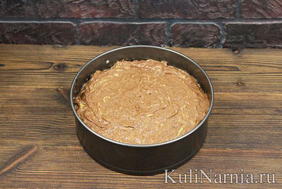 Шоколадный пирог из кабачков в духовке