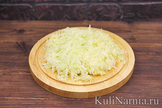 Сладкий пирог из кабачков рецепт с фото