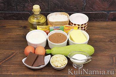 Сладкий пирог из кабачков рецепт