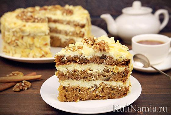 Торт тыквенный
