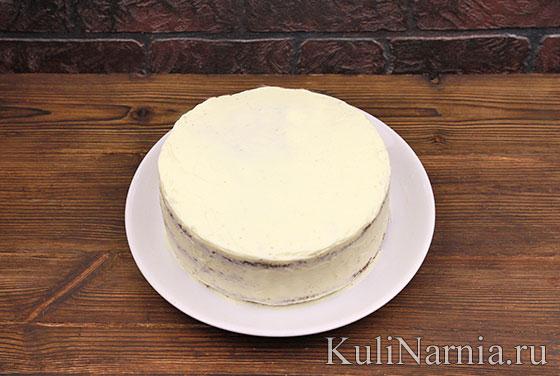 Тыквенный торт с кремом
