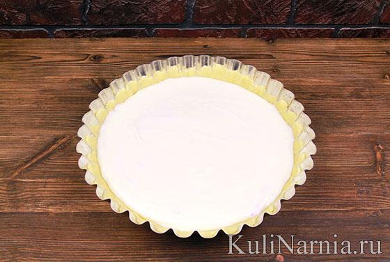 Баварский яблочный пирог с сыром