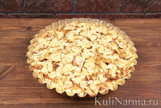 Баварский яблочный пирог в духовке