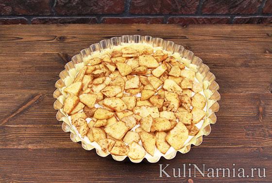 Как готовить баварский яблочный пирог