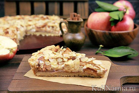 Как приготовить баварский яблочный пирог