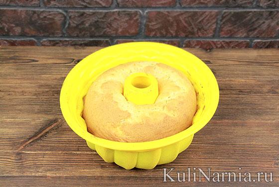 Кекс на желтках в духовке