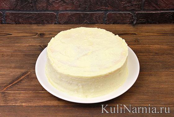 Торт на сковороде с фото