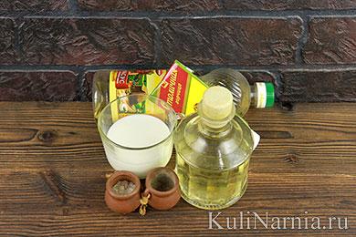 Домашниы маёнез без яитс рецепт