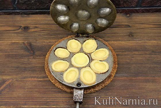Печенье Орешки с фото