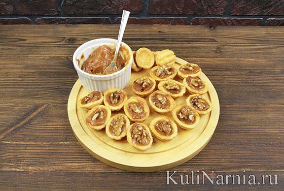 Рецепт печенья Орешки с фото