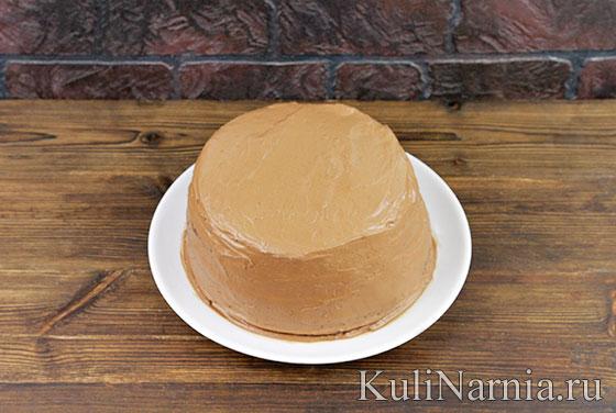 Трюфельный торт с фото