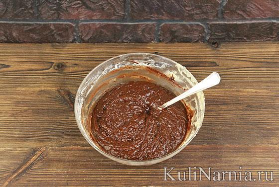 Тыквенно-шоколадный брауни рецепт