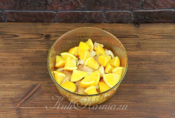 Как готовить курицу с апельсинами
