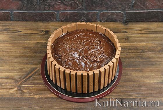 Как готовить торт Поросята в грязи