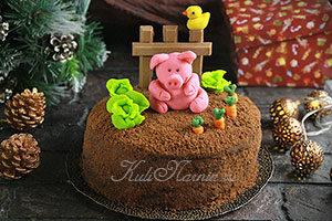 Торт Поросенок