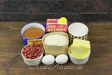 Арахисовый торт Коровка рецепт