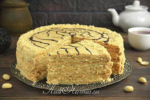 Арахисовый торт Коровка