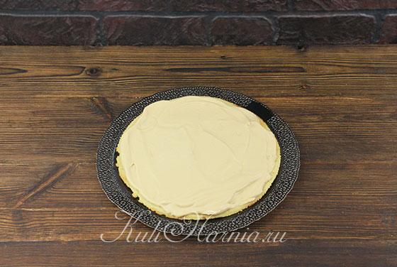 Арахисовый торт со сгущенкой с фото