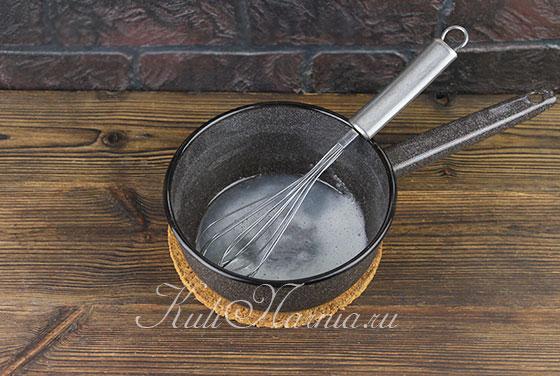 Глазурь для тульского пряника