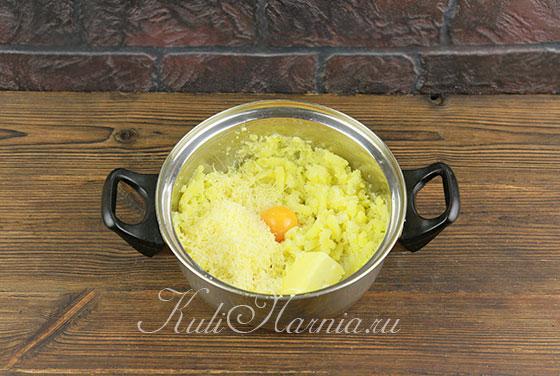Рецепт картофельных гнезд