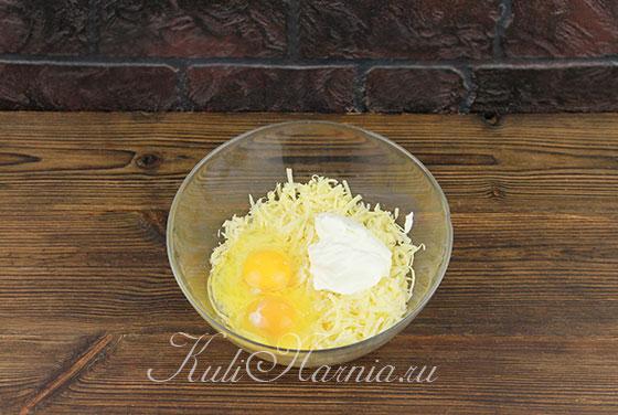 Рецепт сырного рулета с фото