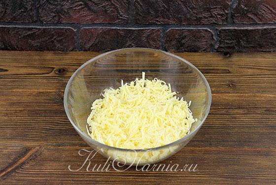 Рецепт сырного рулета