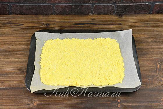 Сырный рулет пошагово