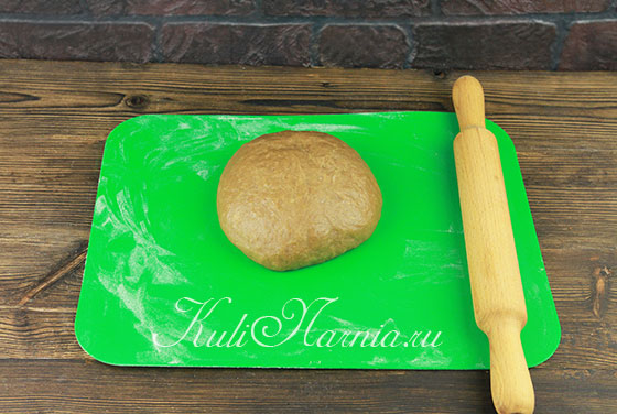 Тесто для тульского пряника