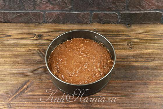 Как приготовить шоколадно-банановый пирог в духовке